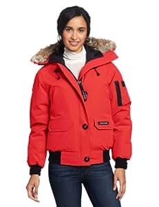 Amazon.com: Canada Goose Women's Chilliwack Bomber, Red, X