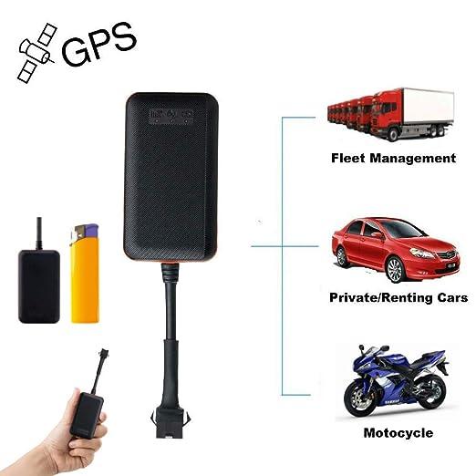 Mini GPS Tracker Localizador Localizador GPS para Coche Tiempo Real Rastreador GPS Coche Inalambrico Posicionamiento Alarma de Vibración Alarma de Exceso de ...