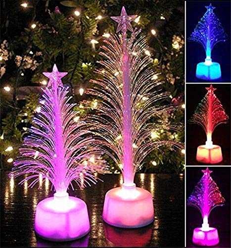 FANRENYOU 1Pc Glow Christmas Tree LED Color Changing, used for sale  Delivered anywhere in USA