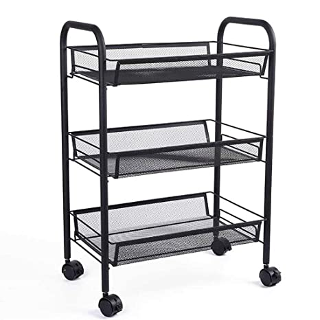Amazon.com - NJ Restaurant Trolley- Home Kitchen Rack Living ...