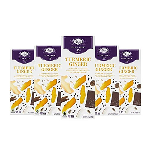 Amazon.com : Vosges Haut-Chocolat Turmeric Ginger Chocolate, Pack of 12, 3 oz Bars : Grocery & Gourmet Food