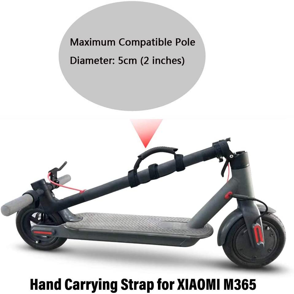 Yifant Portable Hand Strap Carrying Belt for Xiaomi Mijia M365 Electric Scooter Accessory Strengthen Handle Bandage Ninebot Segway ES1 ES2 ES3 ES4