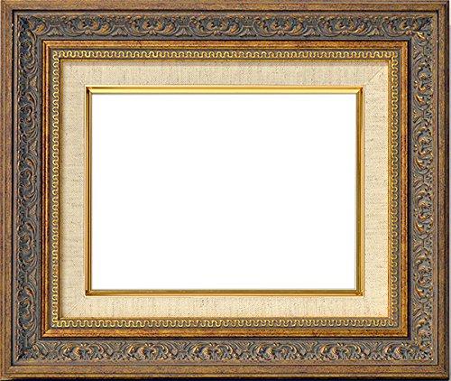油絵用額縁 8203/アンティークゴールド SM(227×158mm)  アクリル (ライナー色:G/ベージュ)【dras-25】 B01AJ8AG3I G/ベージュ G/ベージュ