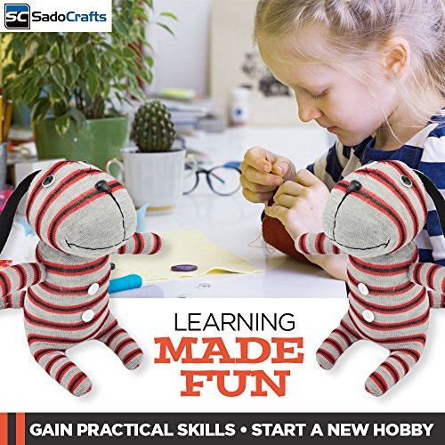Sadocrafts Sew Your Own Educational Stuffed Animal Toy Diy