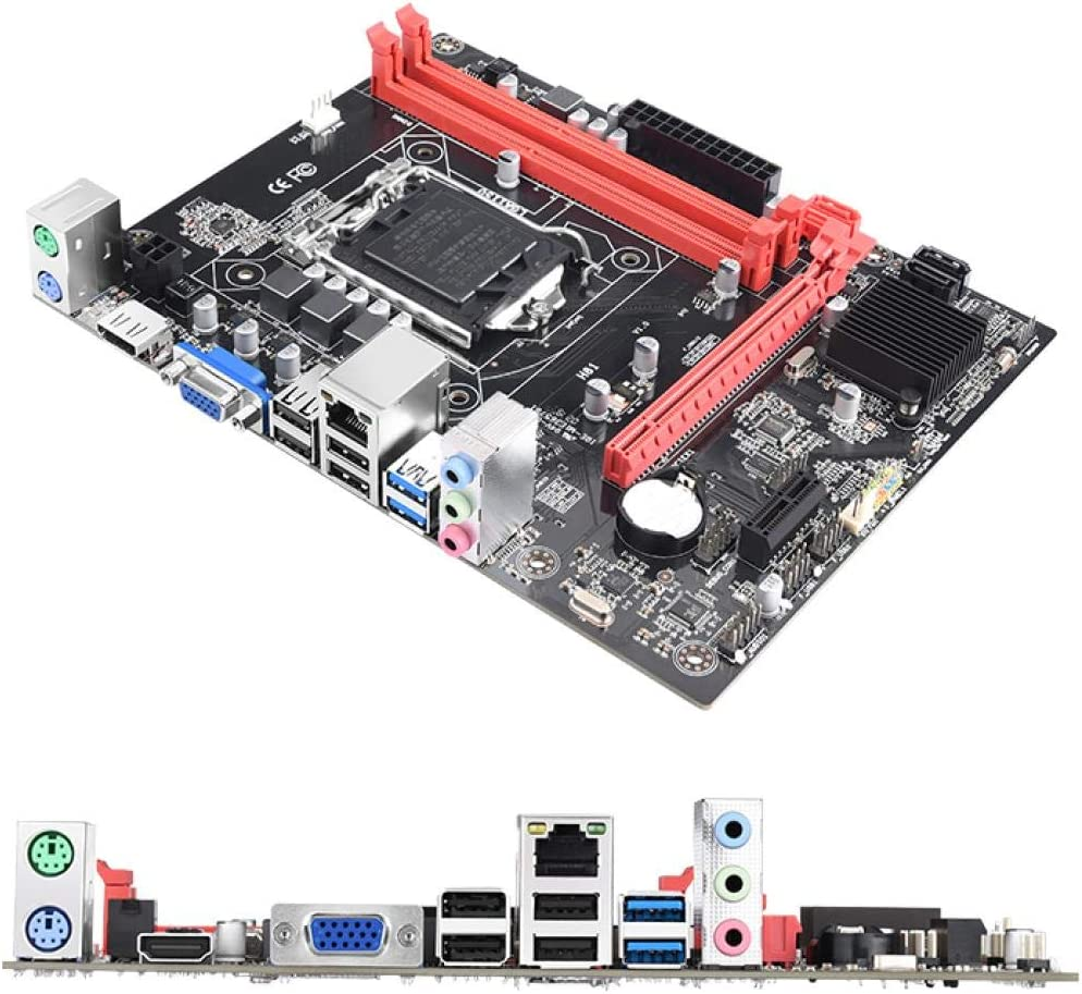 GUOJIAYI H81M Motherboard H81 Mainboard LGA1150 DDR3 PCI-E 16X USB3.0 SATA3.0 HDMI VGA Up to 16GB DDR3 supported
