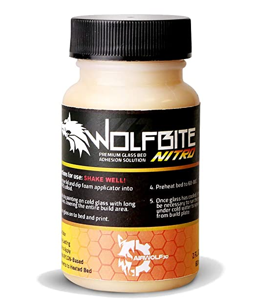 Airwolf 3D A23304 Lobo Bite Solución Adhesión Heatbed Nitro ...