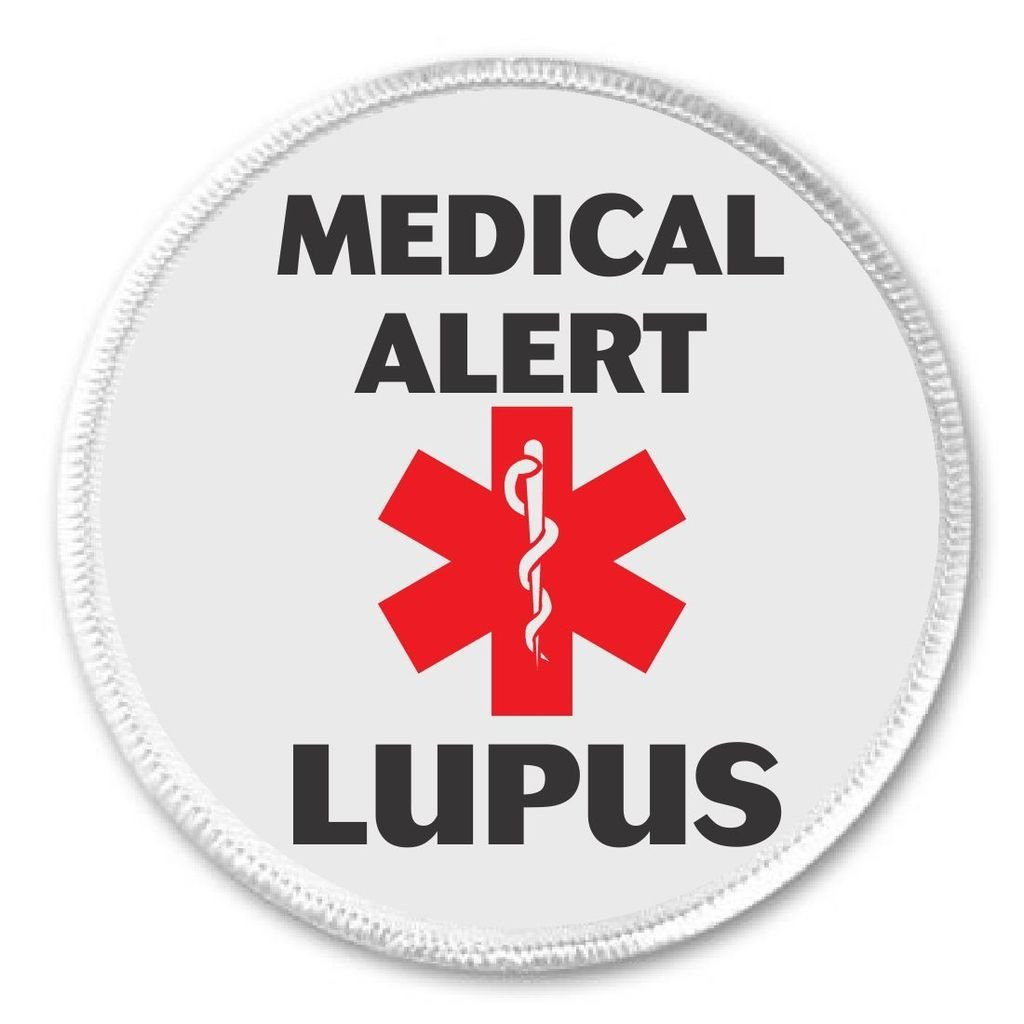 Amazon Medical Alert Lupus 3 Sew On Patch Health Symbol