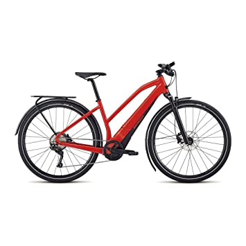 "Specialized Mujer E-Bike Turbo Vado 4.0 "", red/blk,"