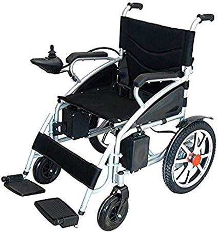 Amazon.com: ComfyGO - Silla de ruedas eléctrica plegable de ...