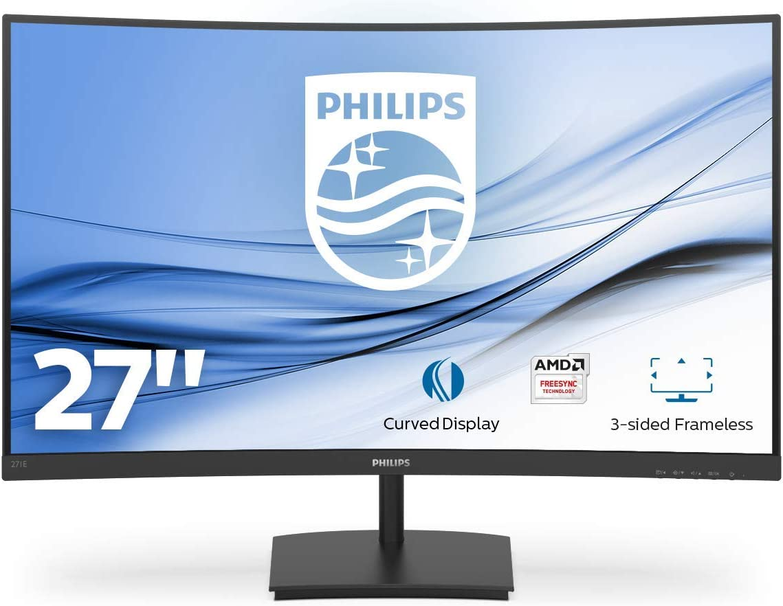 Philips Curved Gaming Monitor, Black