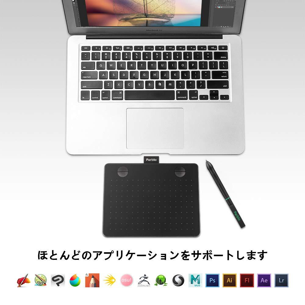 A640 ペンタブレット 対応OS システム アプリ