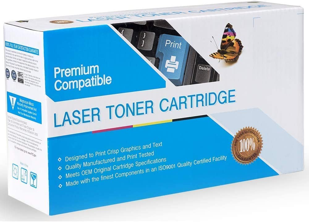 Rose Office Supply Compatible Ink Cartridge Replacement for HP CF248A, 48A, Works with: Laserjet Pro M15w, Laserjet Pro MFP M28w Black