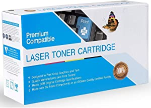 Rose Office Supply Compatible Ink Cartridge Replacement for Dell 330-9523, 330-9524, 7H53W, Works with: 1130, 1130N, 1133, 1133MFP, 1135N; MFP 1135N Black