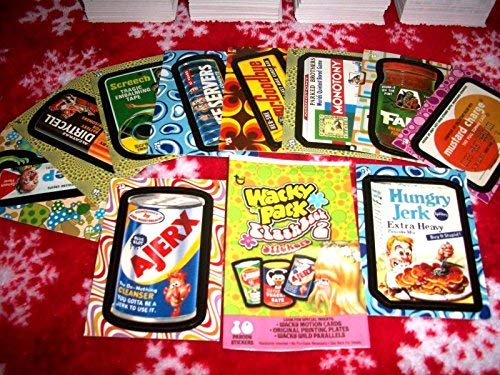 Wacky Packages 2008 FLASHBACK SERIES 2 {FB2} LOT OF THIRTY DIFFERENT STICKERS + 2 CEREAL KILLER CARD - http://coolthings.us