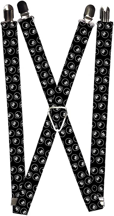 New Buckle Down Men/'s Elastic Marvel Avengers Clip End Suspenders