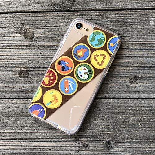 - Boy Scout, Girl Scout Badge Sash iPhone Case for 5, SE, 5s, 6, 7, 8, 6 Plus, 7 Plus, 8 Plus, X
