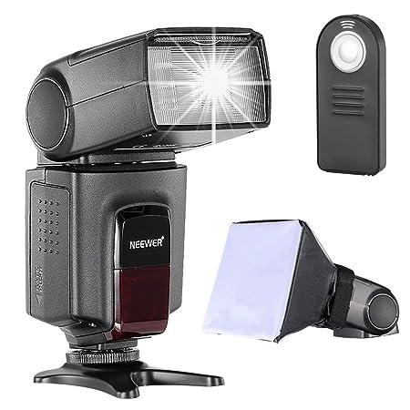 Neewer TT560 Speedlite Blitz Kit für Canon Nikon Sony Pentax DSLR Kamera mit Standard-Blitzschuh, beinhaltet: (1) TT560 Blitz