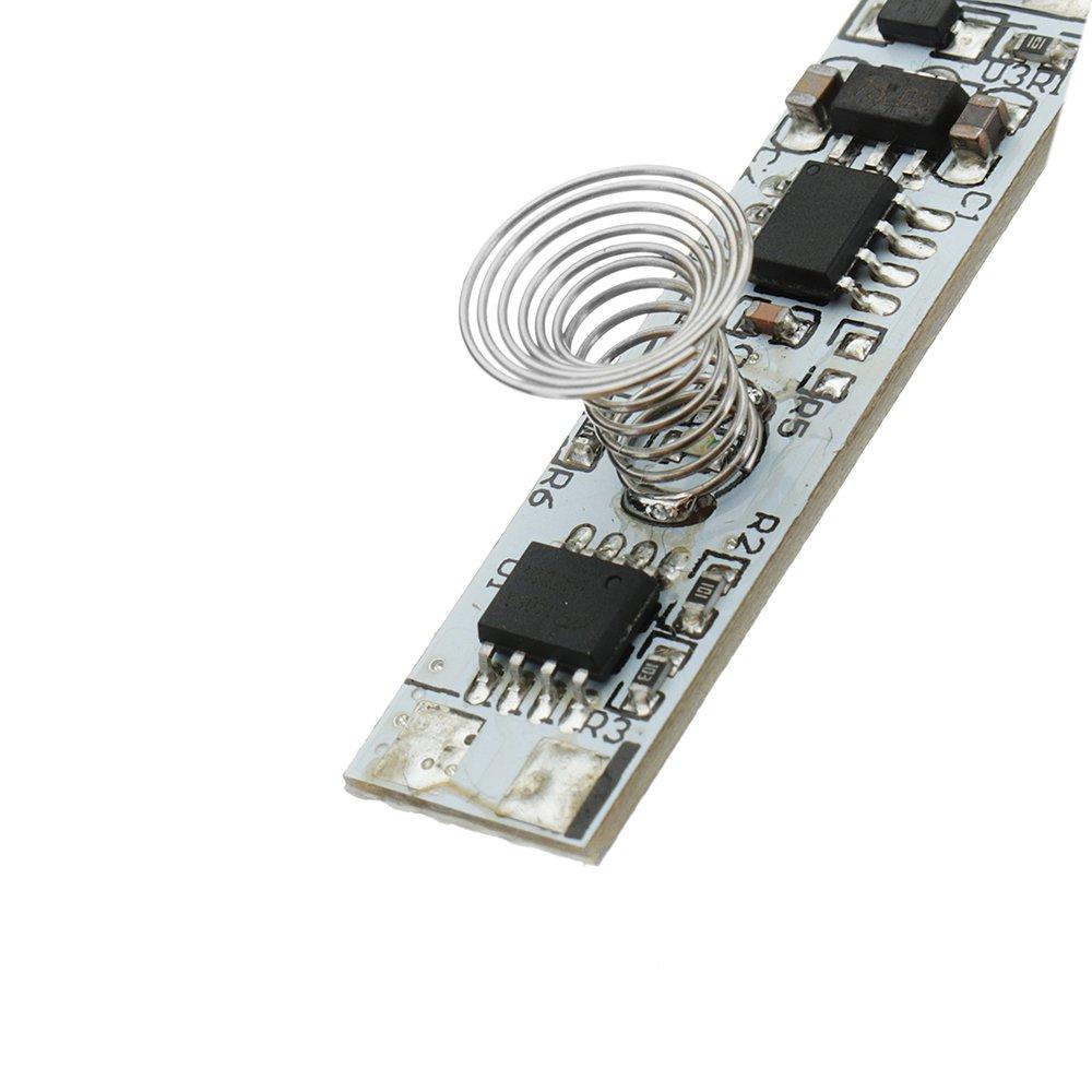 ILS 3 pi/èces DC 9V 24V Interrupteur Tactile LED Module capteur Tactile capacitif Dimming Module Commande