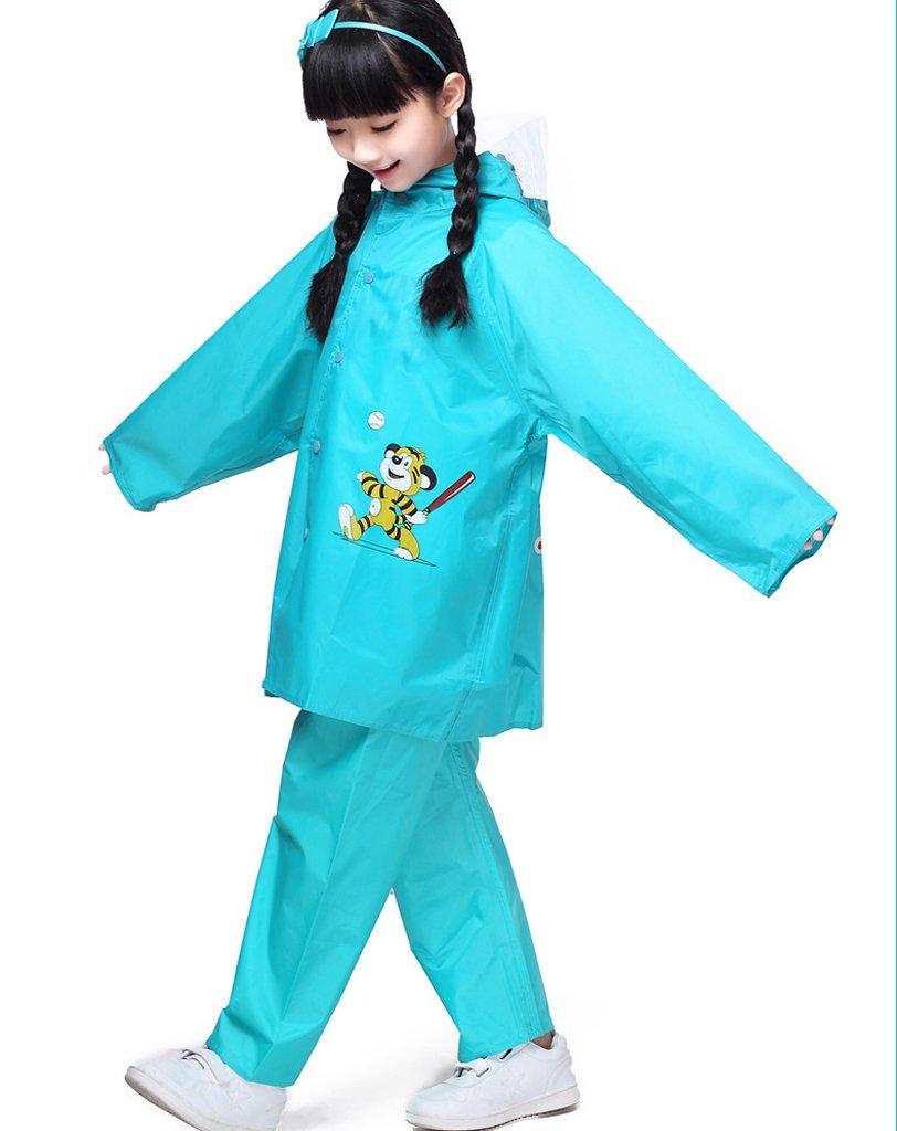 HUIJU Kinderregenmantel Passt Für Jungen Und Mädchen Korean Studenten Poncho Kinder Regenmantel Anzug, Höhe Weich Und Bequem B07C7DMH3J Jacken Günstigen Preis