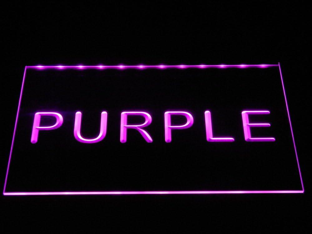 ADVPRO Open Permanent Make Up Beauty Salon LED Neon Sign Purple 12 x 8.5 Inches st4s32-i052-p