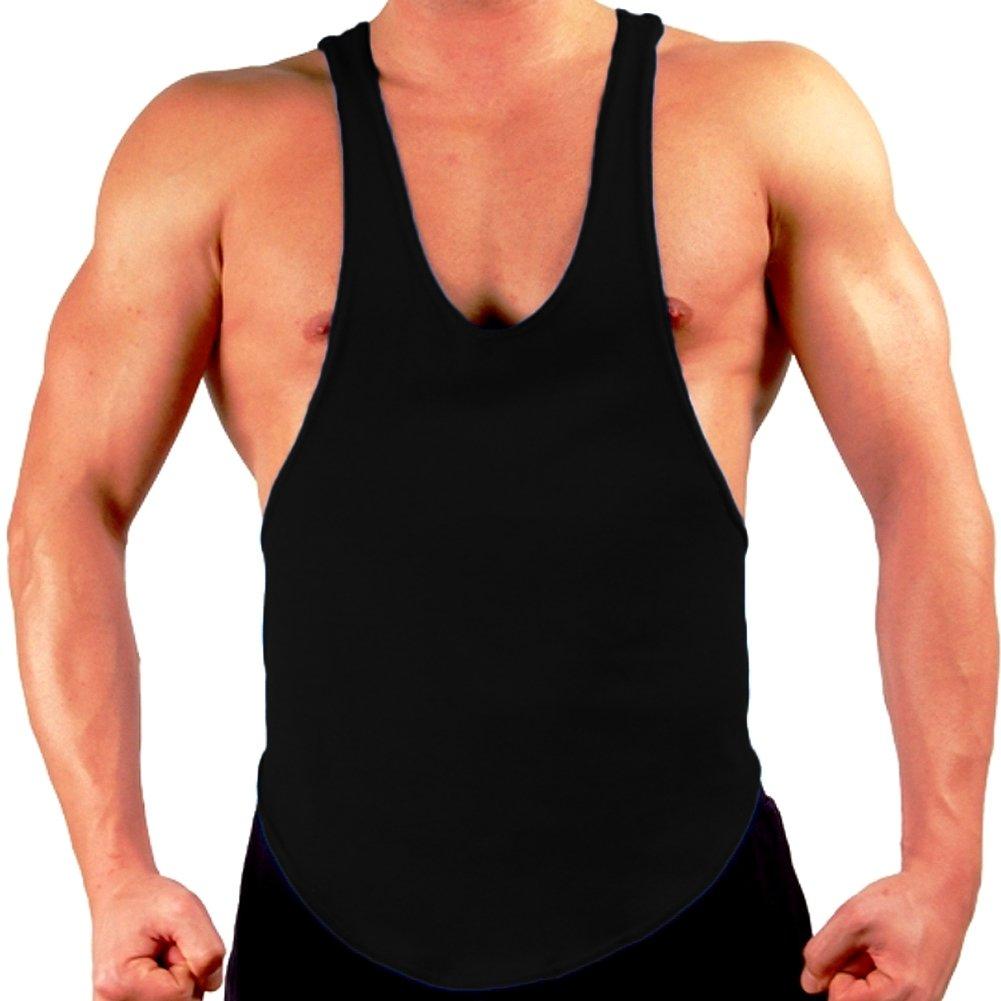 Gary Majdell Sport Mens Bodybuilding Gym String Posing Tank Top 8206