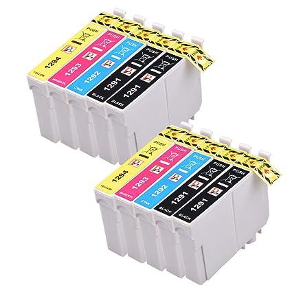 PerfectPrint - 10 Compatible T1295 Epson cartuchos de tinta ...