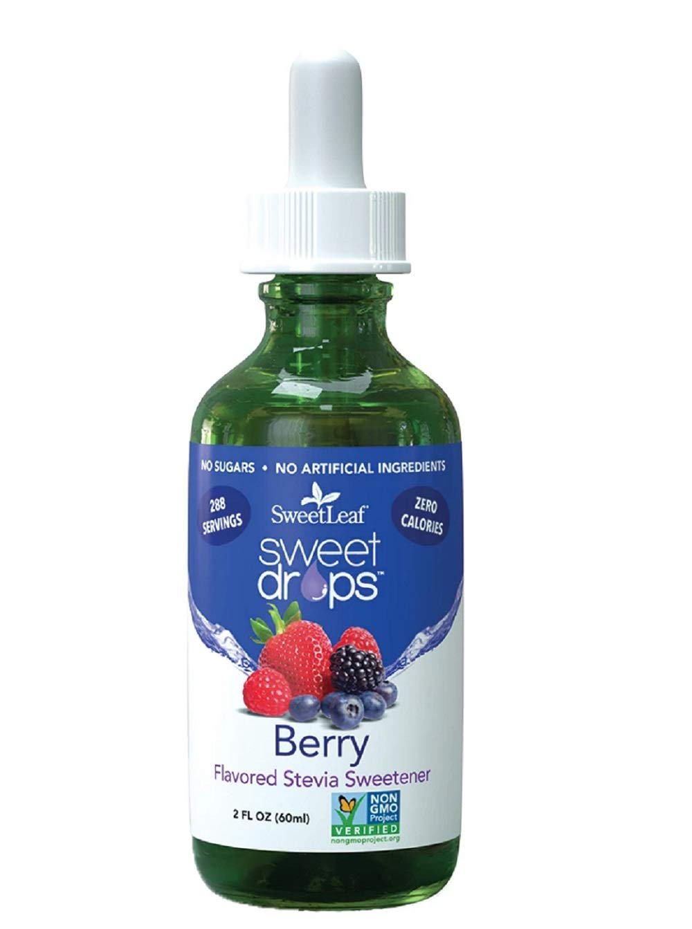 Sweetleaf Stevia Liquid 2 oz Berry