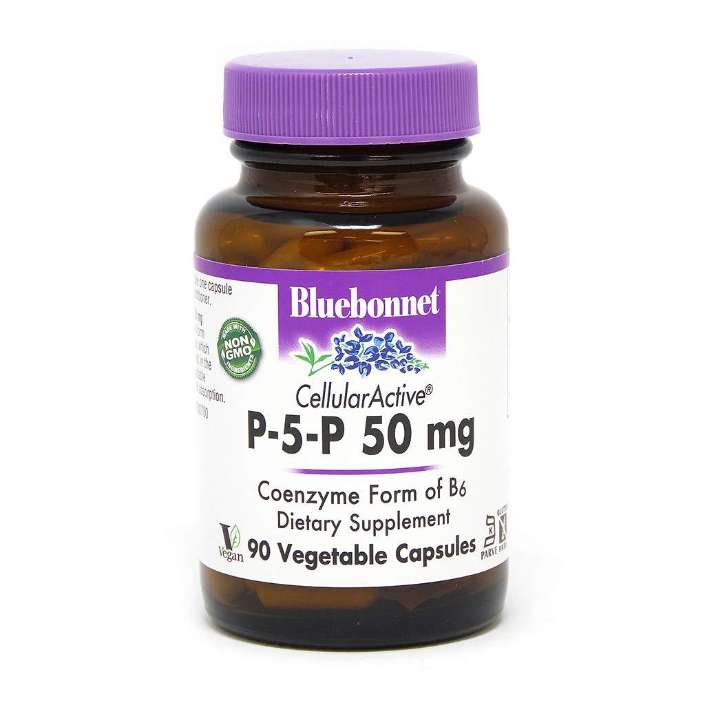 Bluebonnet Nutrition - CellularActive P-5-P 50mg - 90 Vegetarian Capsules