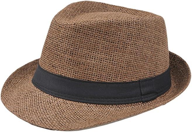 Lumanuby – Sombrero de paja para hombre, para adultos, sombrero ...