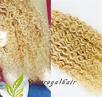 Amazon bestroyalhair natural blonde color human hair bestroyalhair natural blonde color human hair extensions 100 indian remy hair clips in pmusecretfo Image collections