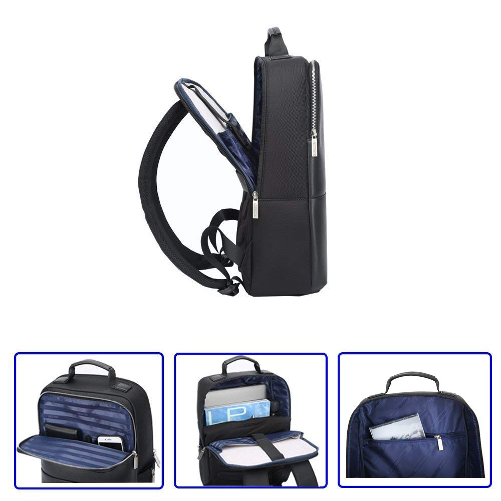 Bopai Business Backpack 15 inch Laptop Bag USB Charging Port and Anti-Theft Computer Rucksack Bopai20180501