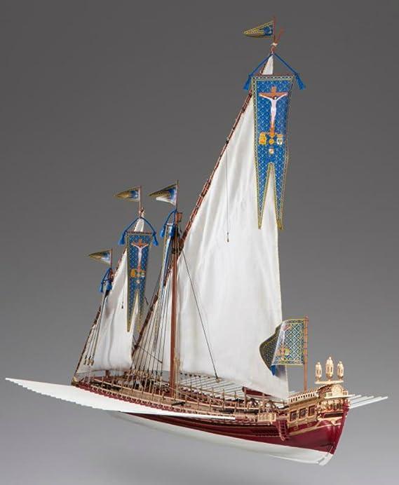 Dusek La Real Spanish Row Galley - Kit de Modelo de Barco: Amazon.es: Juguetes y juegos