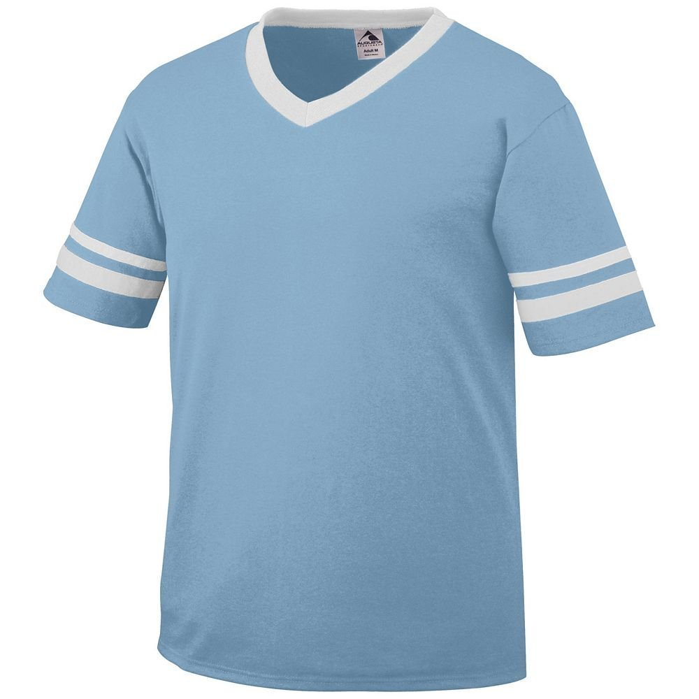 Augusta Sportswear Sleeve Stripe Jersey – Boys ' B003WXZ99O Small|ライトブルー/ホワイト ライトブルー/ホワイト Small