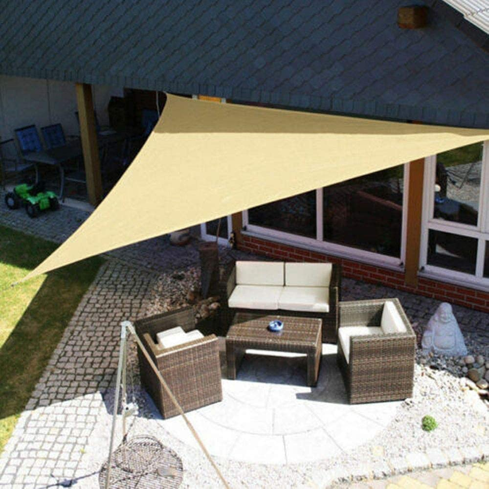 Fitness Sports - Parasol Triangular para Patio, Patio, terraza ...