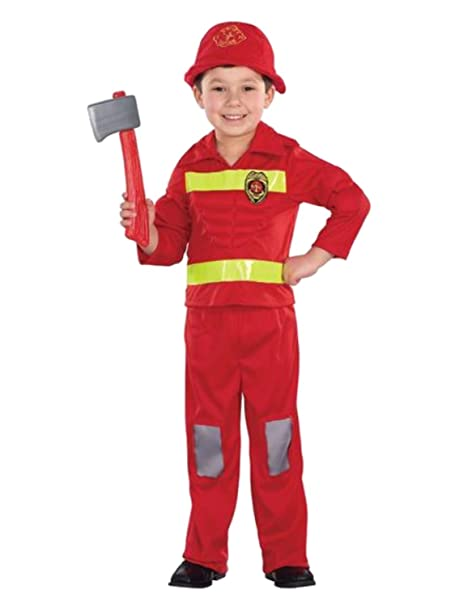 Amazon.com: Totalmente Ghoul Infant & bebé Niños Bombero ...