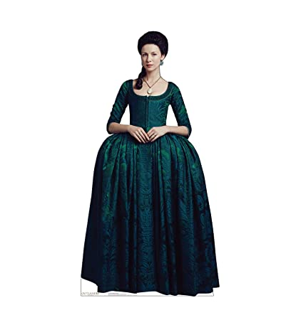56798c59988 Amazon.com  Advanced Graphics Claire Fraser Life Size Cardboard Cutout  Standup - French Version - Starz Outlander  Home   Kitchen