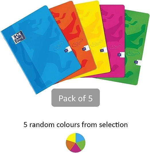 Cuaderno grapado de tapa blanda, de la marca Oxford Touch, tamaño ...