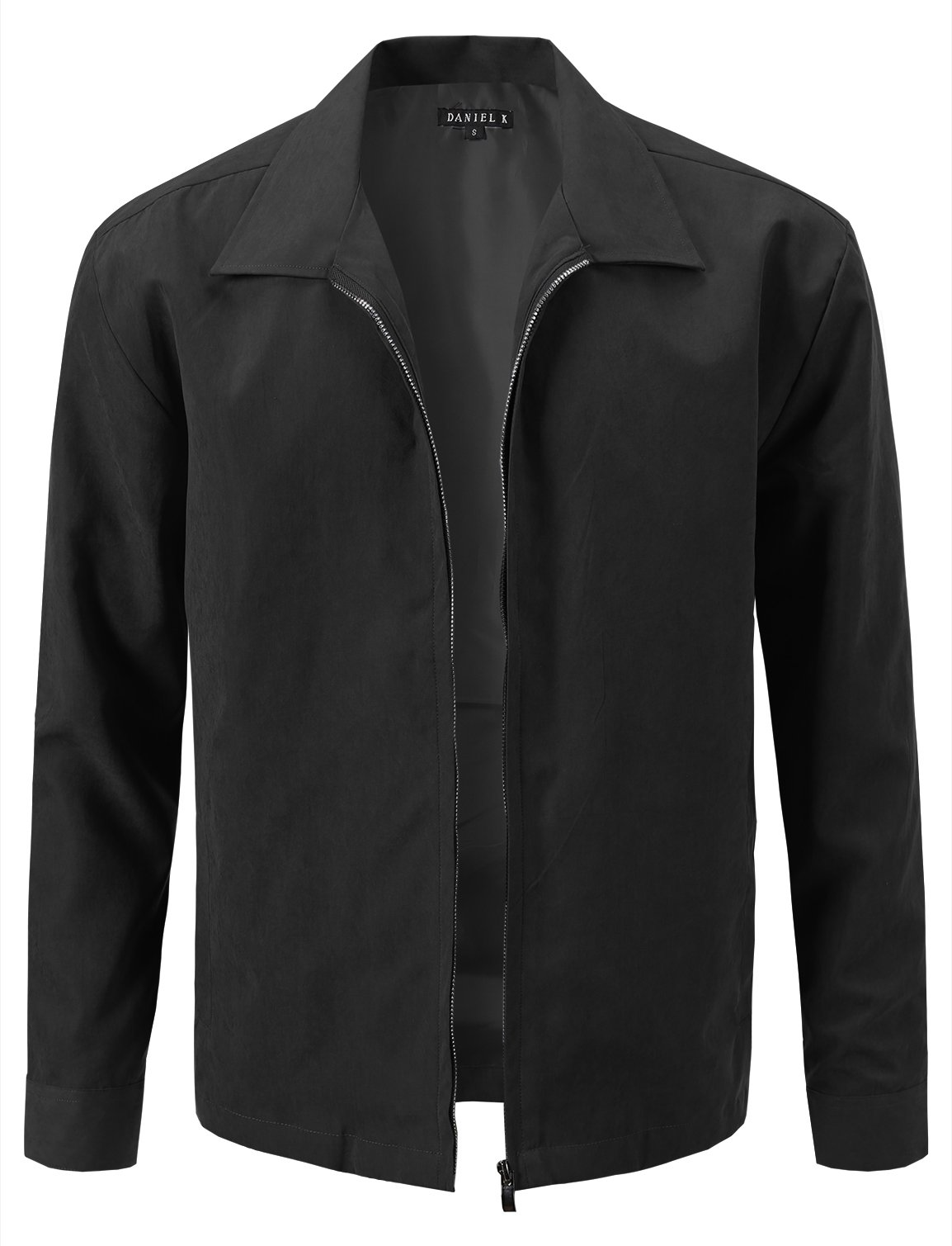 7 Encounter Men's Lightweight Jacket Black L