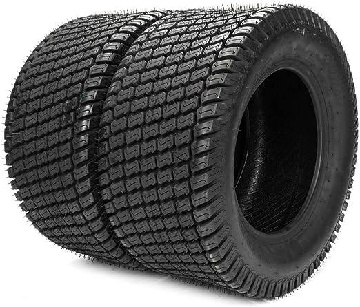 Amazon.com: Juego de dos ruedas giratorias 24 x 12 – 12 para ...
