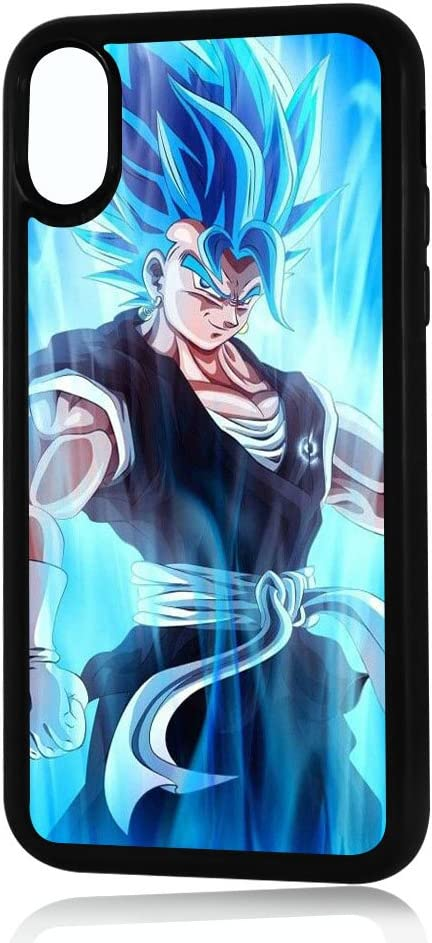 (for iPhone Xs MAX) Durable Protective Soft Back Case Phone Cover - HOT30007 Dragon Ball Goku