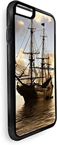Decalac Steamship Glider Printed Case For Iphone 8 Plus