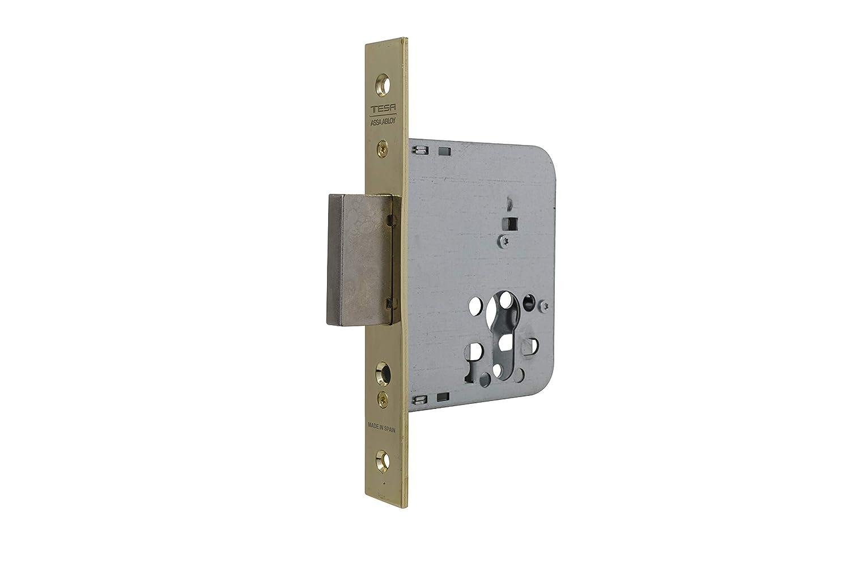 Tesa Assa Abloy 203150Hl Cerradura De Embutir Para Puertas De Madera: Amazon.es: Bricolaje y herramientas