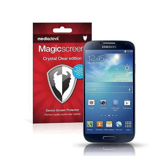 170 opinioni per MediaDevil Samsung Galaxy S4 Pellicola Protettiva: Crystal Clear (Invisibile)-