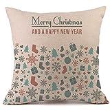 2018 Leedford Pillow Cases Linen Sofa Cushion Cover