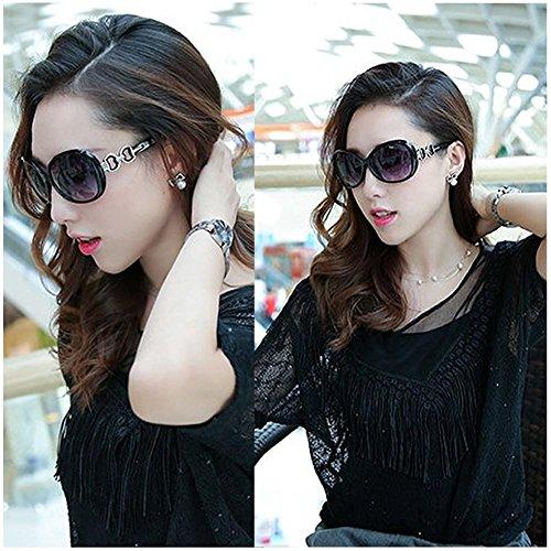 estilo para retro sol Fashion estilo vintage mujer 4 Gafas pieza 1 de 2 KUKE w8IfH1x8