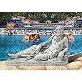 Design Toscano Neptune of St. John's Lock, River Thames Statue For Sale
