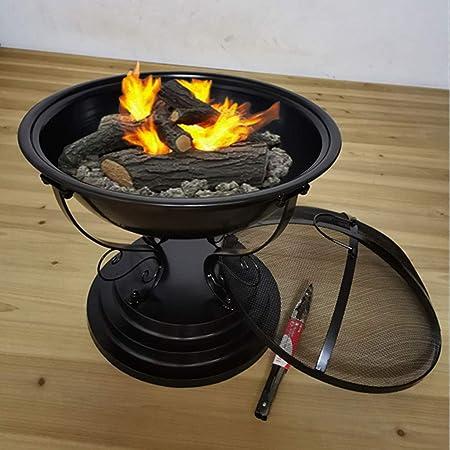 BRREB Brasero De Calefacción Exterior, Brasero De Interior Estufa De Barbacoa Hogar Estufa De Carbón De Calefacción Carbón De Leña Barbacoa Jardín Barbacoa Brasero Calefacción A: Amazon.es: Hogar