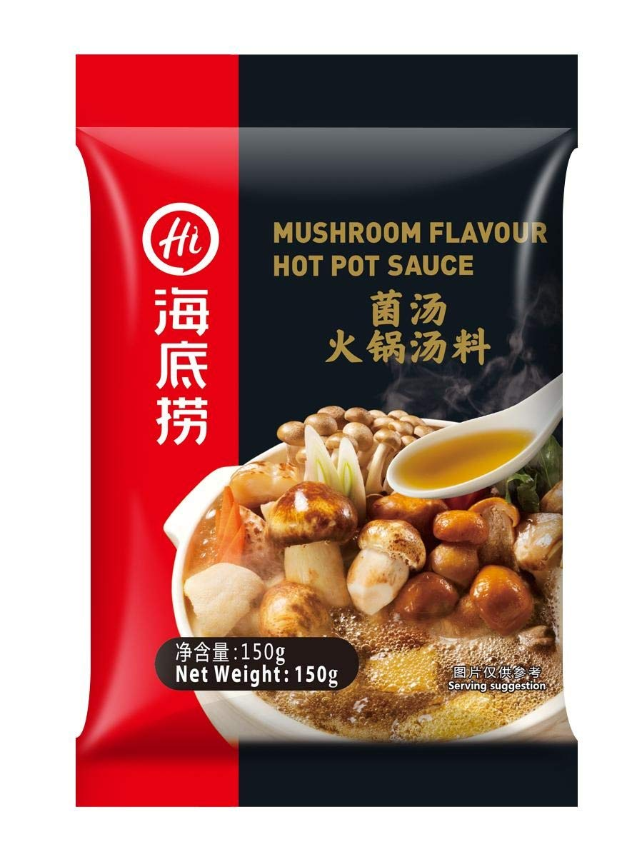 Haidilao Mushroom Flavour Hot Pot Seasoning 150g