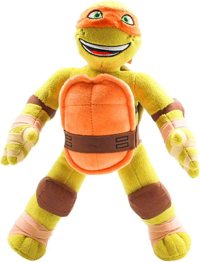 Amazon.com: Teenage Mutant Ninja Tortugas Miguel Ángel Plush ...