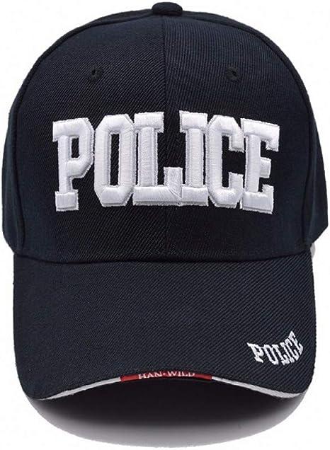 FHSOHG Gorra de béisbol de la policía Hombres Gorra táctica Gorras ...